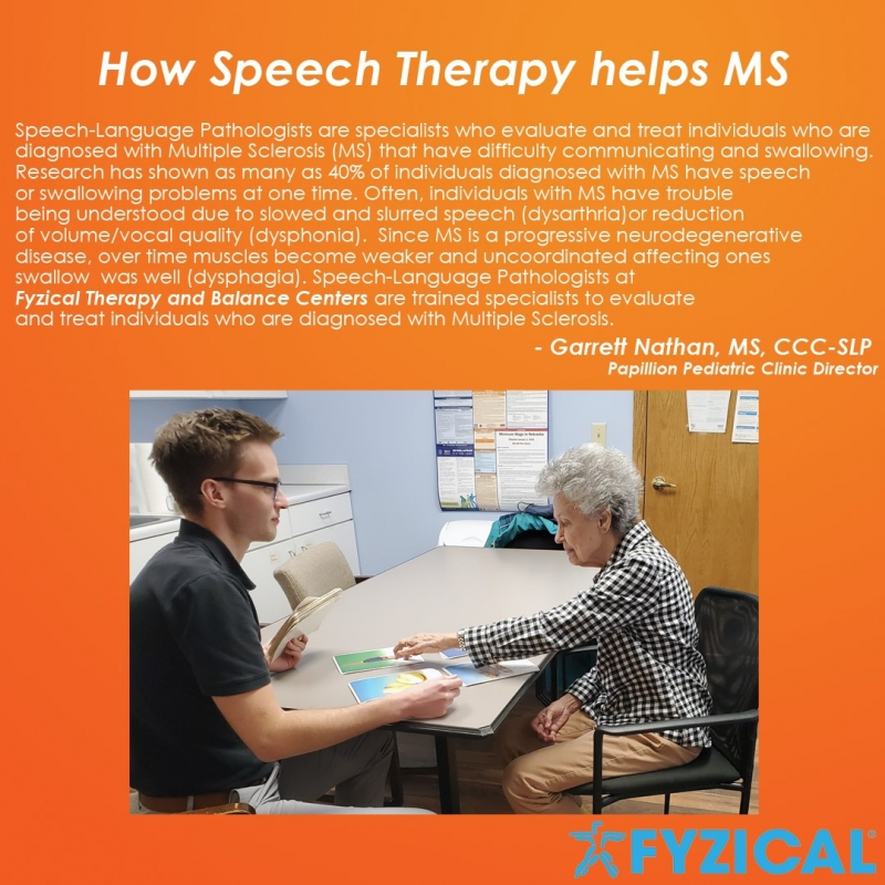 How Speech Therapy Helps MS